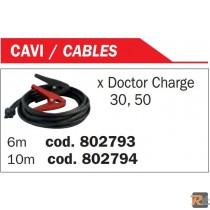 CAVO DI CARICA 6MT  x DOCTOR CHARGE - 802793  - TELWIN