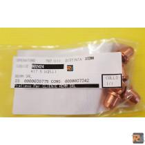 KIT 5 UGELLI TELWIN 802424 - TELWIN
