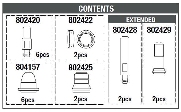 CONTENUTO BOX PLASMA 804189